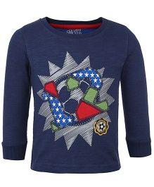 FS Mini Klub Full Sleeves T-Shirt - Star Print