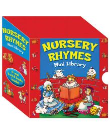 Nursery Rhymes Mini Library - English