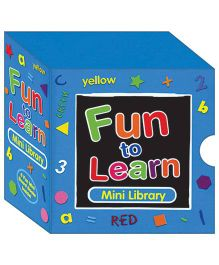 Fun to Learn Mini Library Pack Blue - English