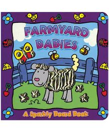 Sparkly Board Book Farmyard Babies - English