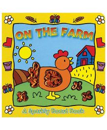 Sparkly Board Book On The Farm - English