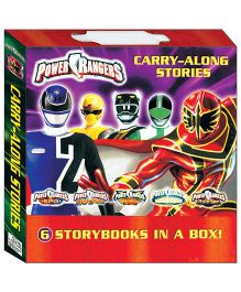 Power Rangers Carry Along Stories Pack Of 6 - English