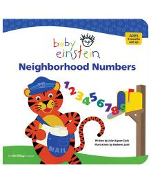 Baby Einstein Neighborhood Numbers - English