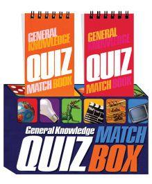 General Knowledge Quiz Match Box Blue - English
