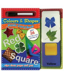 Colours And Shapes Flash Card Book - English