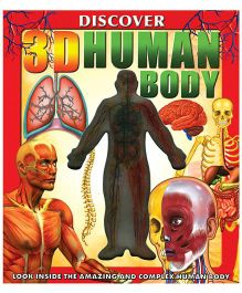 Discover 3D Human Body Book - English