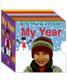 My Year My Little Pocket Library Pack of 6 Titles - English