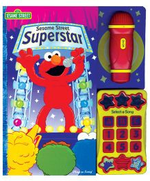 Sesame Street Superstar Book - English
