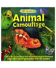 3D Close Up Animal Camouflage - English