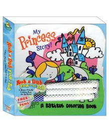My Princess Story Bath Book- English
