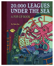 20,000 Leagues Under The Sea Pop-Up Book- English
