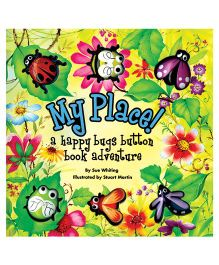 My Place A Happy Bugs Button Book - English