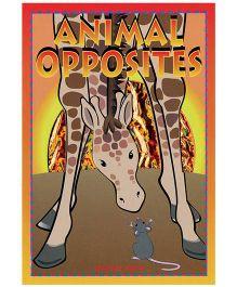 Sparkle Book Animal Opposites - English