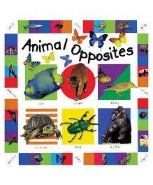 Animal Opposites Book - English