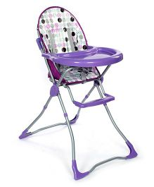 Fab N Funky High Chair - Purple