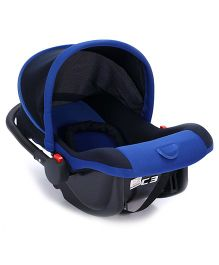 Fab N Funky Carry Cot Cum Rocker - Navy Blue