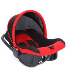 Carry Cot Cum Rocker - Red And Black