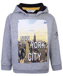 Beebay Full Sleeves Sweatshirt Grey - New York City