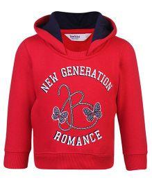 Beebay Full Sleeves Hooded Sweatshirt - New Generation