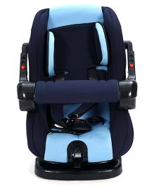 Fab N Funky Car Seat - Navy Blue And Black
