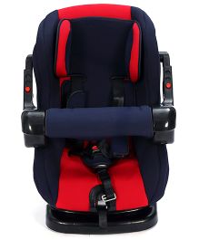 Fab N Funky Car Seat - Navy Blue And Red
