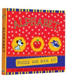 Art Factory Alphabet Puzzle And Book Kit - English