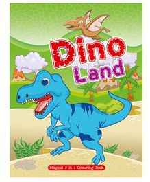 Art Factory Dino Land Magical 5 in 1 Colouring Book