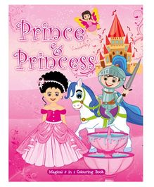Art Factory Prince And Princess Magical 5 in 1 Coloring Book