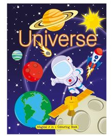 Art Factory Universe Magical 5 in 1 Coloring Book