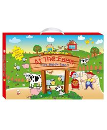 Art Factory At the Farm My Big Box of Puzzle And Book Fun