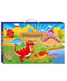 Art Factory - Dinosaurs My Big Box of Puzzle And Book Fun