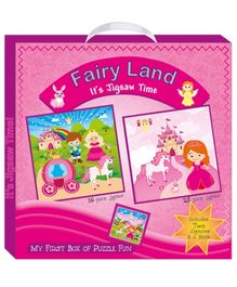 Art Factory Fairy Land My First Box of Puzzle Fun