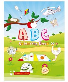 Art Factory ABC Coloring Book - English