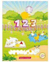 Art Factory 123 Coloring Book - English