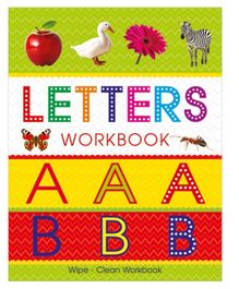 Art Factory Letters Wipe And Clean Workbook - English