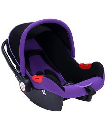 Fab N Funky Carry Cot Cum Rocker - Purple