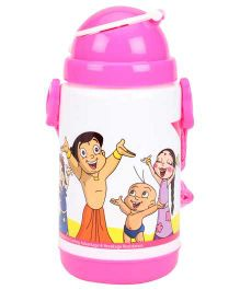 Chhota Bheem Insulated Double Wall Sipper Bottle - Pink