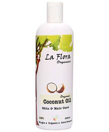 La Flora Organics Organic Coconut Oil Skin And Hair Care - 200 ml