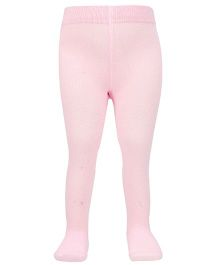 Mustang Footed Tights Stockings - Pink