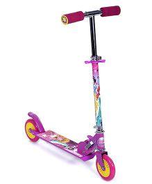 Disney Princess Two Wheeler Scooter - Purple