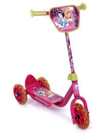 Disney Princess Three Wheeler Scooter - Pink