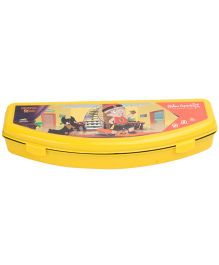 Chhota Bheem Plastic Pencil Box - Yellow
