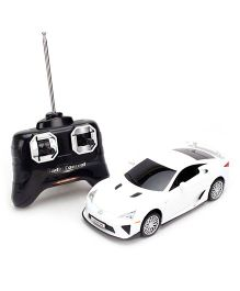 Gokai Remote Control Car Lexus - White