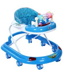 Musical Walker With Play Tray- Blue