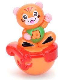 Kumar Toys Roly Poly Kitty Design - Orange