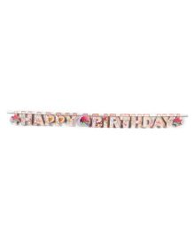 Karmallys Birthday Banner - 16 Pieces