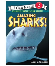 Harper Collins Amazing Sharks - English