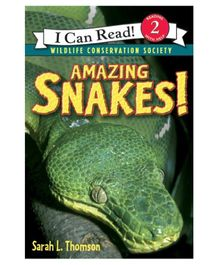 Harper Collins Amazing Snakes - English