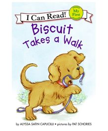 Harper Collins I Can Read Series Biscuit Takes A Walk - English