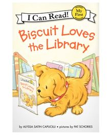 Harper Collins Biscuit Loves The Library - English
